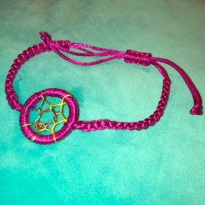 Jewelry - Magenta dream catcher bracelet